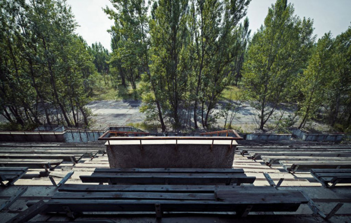 Chernobyl The stadium